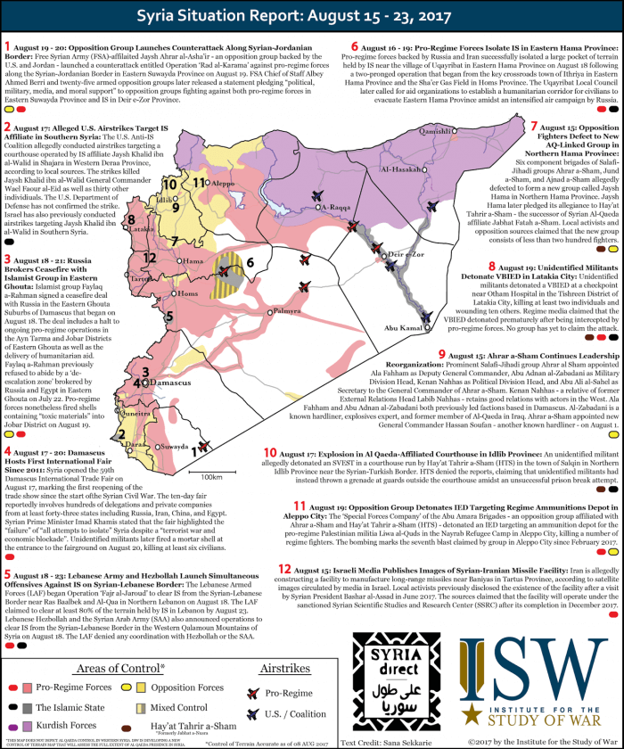 syria war perspective report